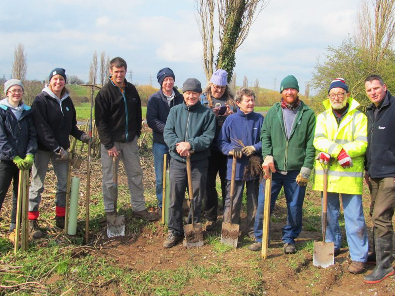 Volunteers Land Trust site Countess of Chester