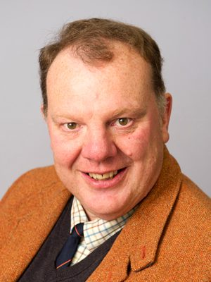 A picture of The Land Trust's board member, Simon MacGillivray