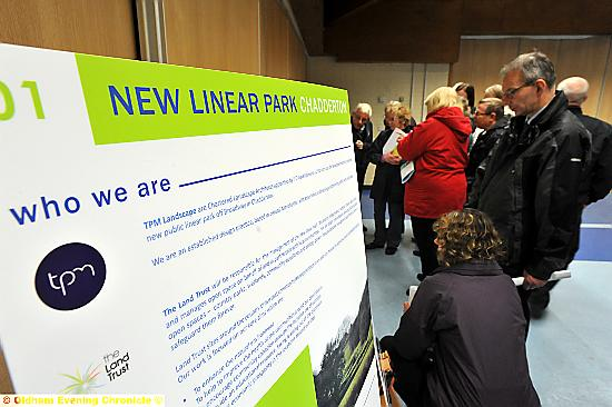 Residents asked to design new linear park as part of the proposed Foxdenton development in Chadderton.