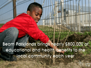 Beam Parklands brings £800k in educational and health benefits
