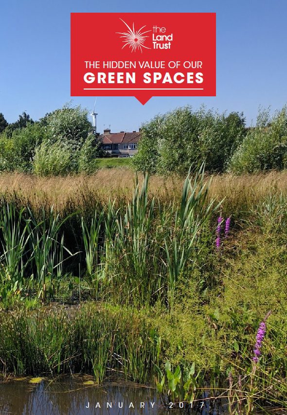 The Hidden Value of our Green Spaces front cover