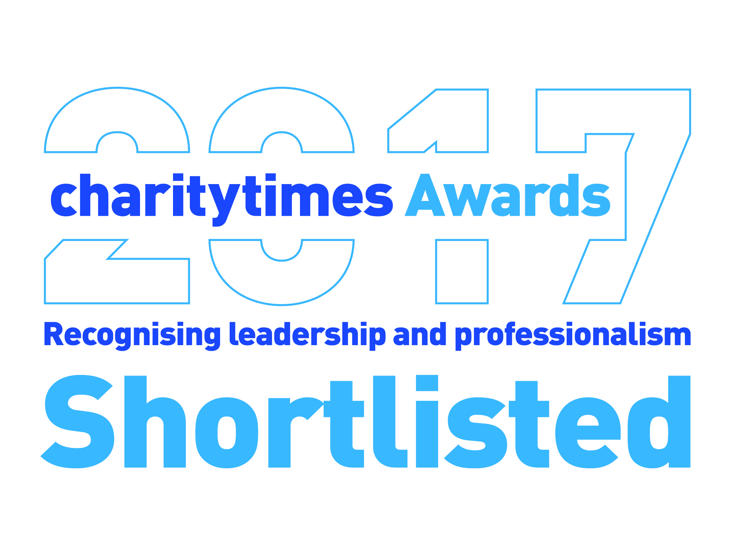 Charity Times Awards 2017 shortlisted